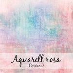 Aquarell rosa (200 cm)